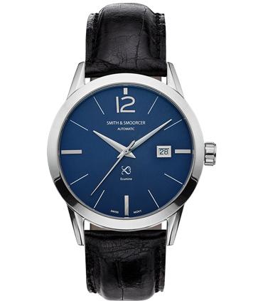 Reloj Automático Azul Ecumine Royal Blue Classic Black