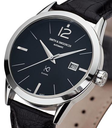 Reloj Automático Ecumine Plain Dusk Classic Black