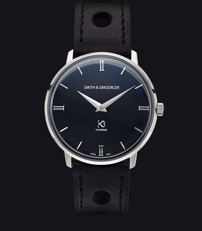 Reloj Esfera Negra Fisherman Dusk Racing Black