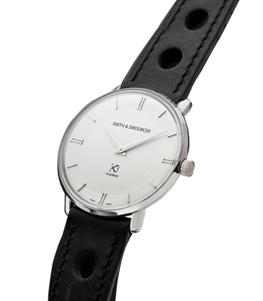 Reloj Esfera Blanca Fisherman Snowy Racing Black