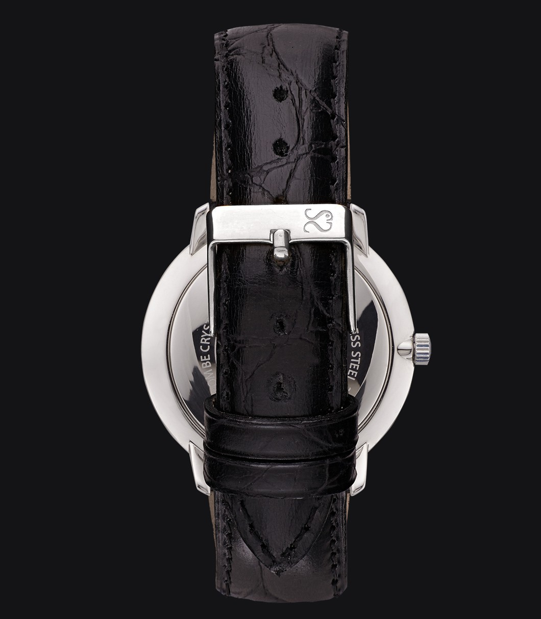 Black Classic Watch Fisherman Dusk Luxury Black