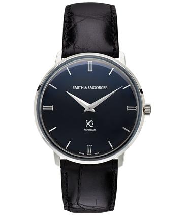 Reloj Clásico Negro Fisherman Dusk Luxury Black