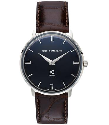 Reloj Clásico Negro Fisherman Dusk Luxury Coffee