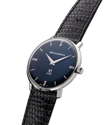 Reloj Negro Lagarto Fisherman Dusk Elegance Black