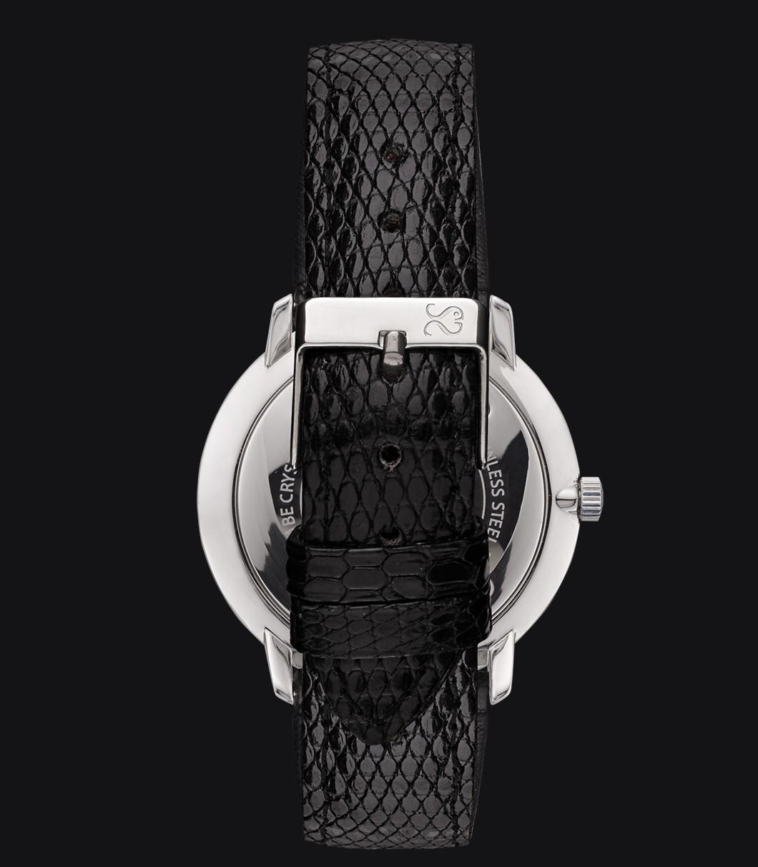 Reloj Blanco Lagarto Fisherman Snowy Elegance Black