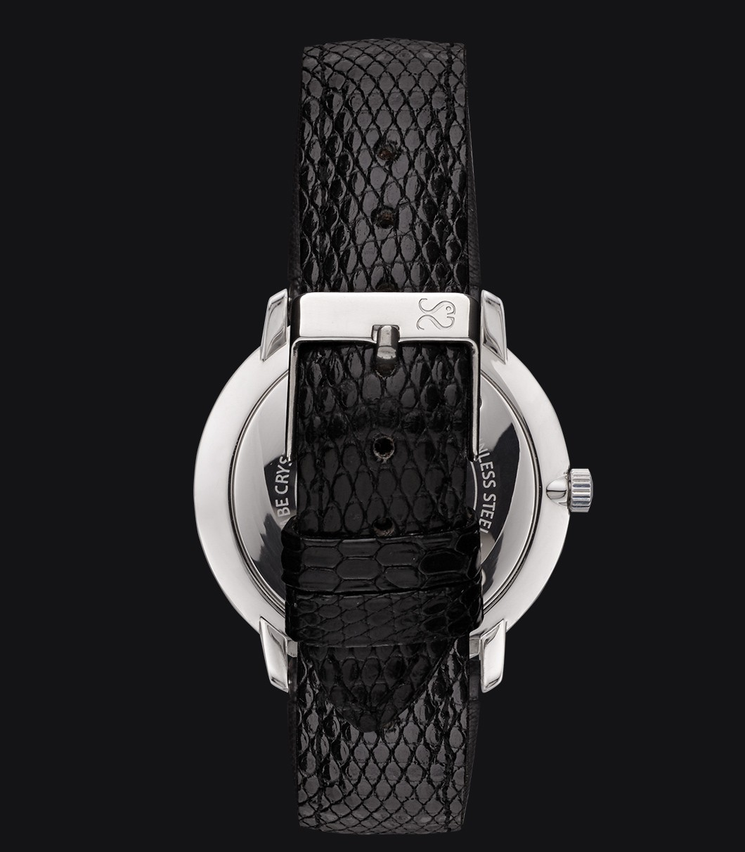 White Watch Lizard Fisherman Snowy Elegance Black