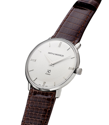 Reloj Blanco Lagarto Fisherman Snowy Elegance Dark Brown