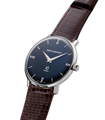 Reloj Negro Lagarto Fisherman Dusk Elegance Dark Brown