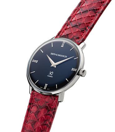 Reloj Negro Serpiente Fisherman Dusk Viper Rouge