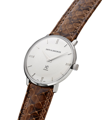 Reloj Blanco Serpiente Fisherman Snowy Viper Brown