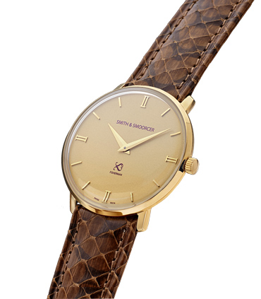 Reloj Dorado Serpiente Fisherman Vintage Viper Brown