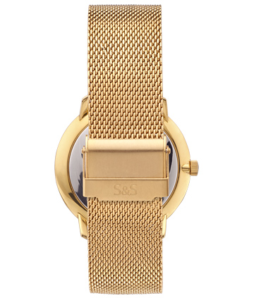 Golden Milanese Watch Strap