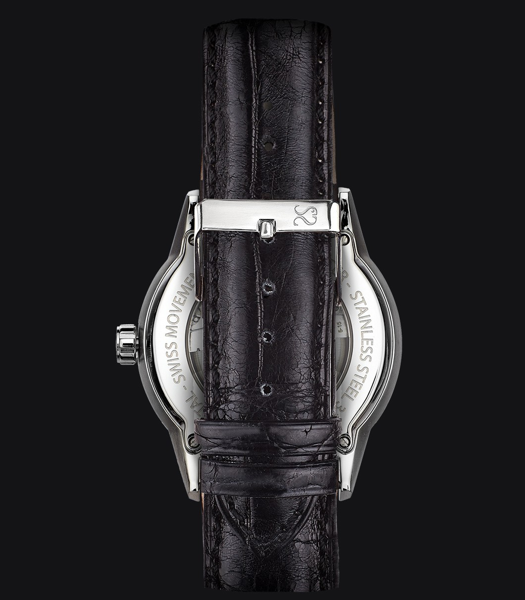 Black Alligator Watch Strap
