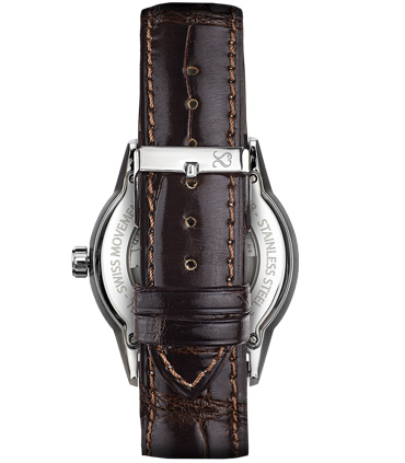 Brown Alligator Watch Strap