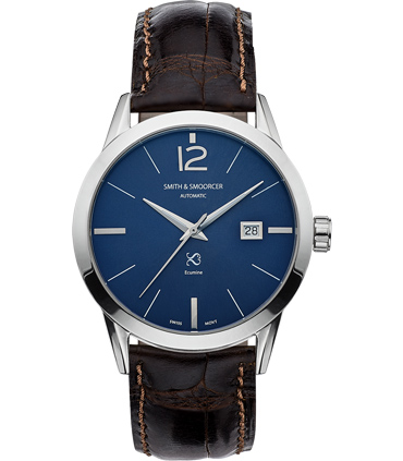 Reloj Automático Ecumine Royal Blue Classic Coffee