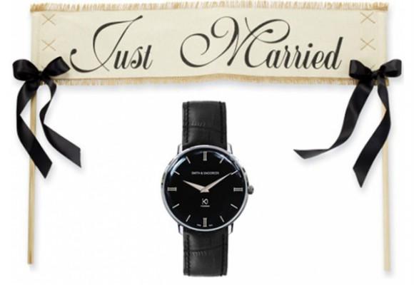 Reloj de hombre para boda